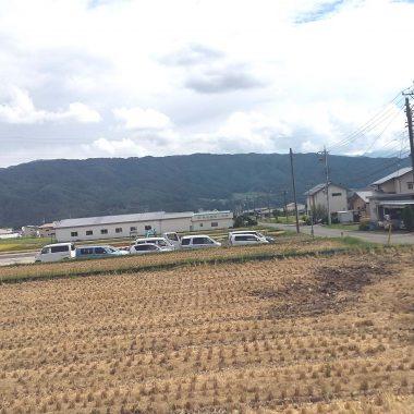 長野県上伊那郡にて対応